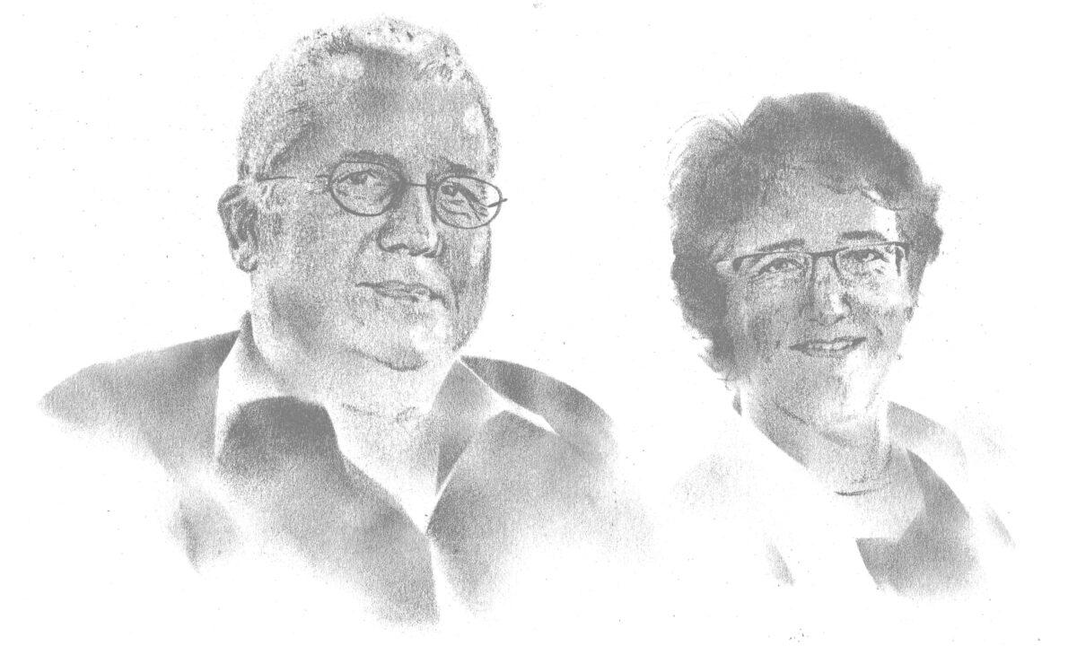 Annette Hug und Stefan Keller
