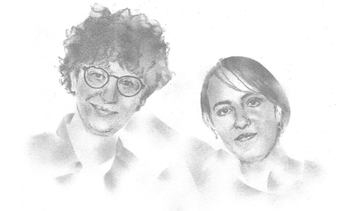 Ivna Žic und Lubna Abou Kheir